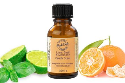 Candle Fragrance Oil - Lime Basil Mandarin 25ml